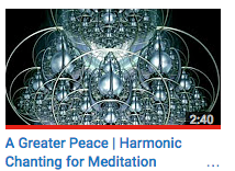 A Greater Peace | Harmonic Chanting for Meditation Relaxation
